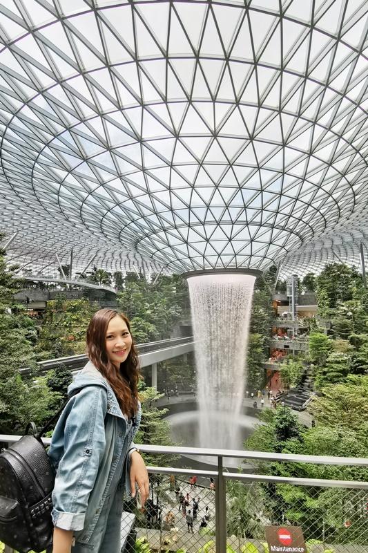 新加坡樟宜機場|室內瀑布超屌!星耀樟宜Jewel Changi Airport