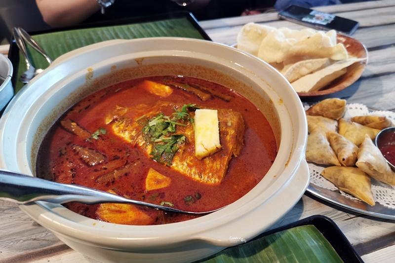 Muthu's Curry|新加坡必吃美食,咖哩魚頭配印度烤餅!小印度區美食!