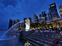 魚尾獅公園 魚尾獅媽媽,新加坡100間星巴克!新加坡景點(新加坡夜景超美!) @陳小沁の吃喝玩樂