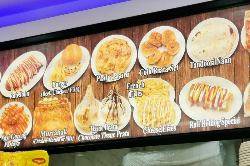 ABC Nasi Kandar印度煎餅|金字塔印度煎餅,淋上煉乳蜂蜜超美味!