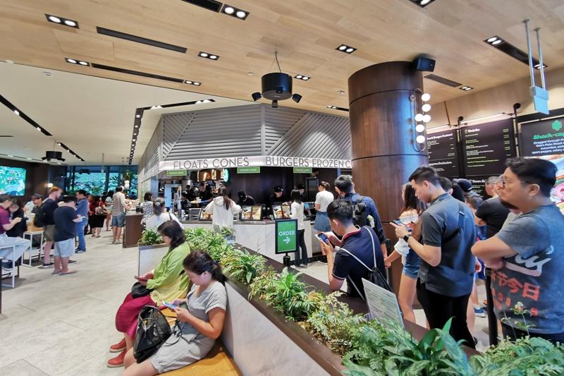Shake Shack 新加坡|紐約第一名美式漢堡!新加坡樟宜機場美食