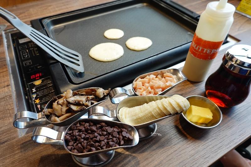 聖淘沙SLAPPY CAKES鬆餅|自己做鬆餅好吃好玩!新加坡環球影城美食推薦 @陳小沁の吃喝玩樂