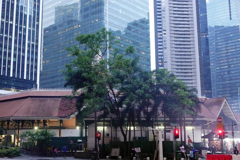 新加坡沙嗲街|Satay Power 6,摩天大樓下吃沙嗲,越夜越嗨超新奇!老巴剎美食中心