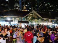 新加坡沙嗲街|Satay Power 6,摩天大樓下吃沙嗲,越夜越嗨超新奇!老巴剎美食中心 @陳小沁の吃喝玩樂