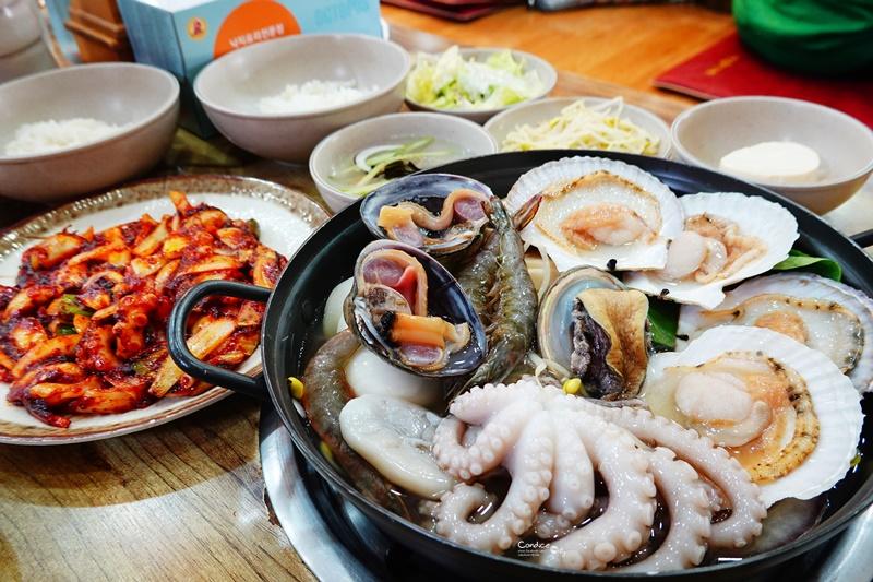 善良章魚|大推薦辣章魚拌飯,章魚海鮮湯也美味(釜山大淵站美食)