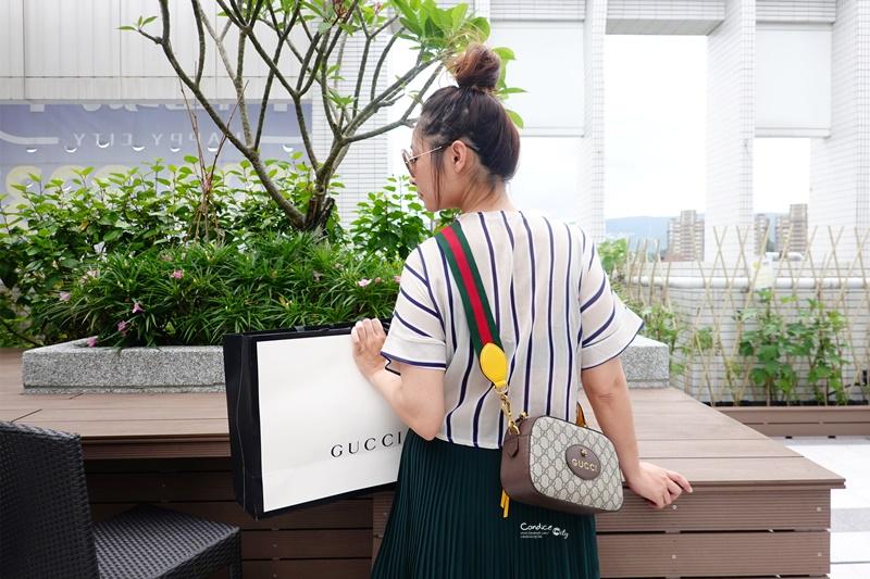 【開箱】GUCCI虎頭相機包,紅綠背帶,好穿搭容量大(GG Supreme messenger bag)