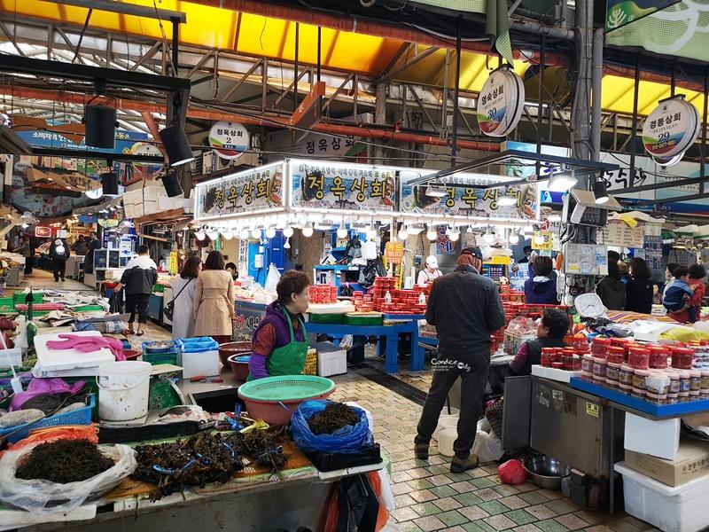 黑豬肉一條街,東門市場,生魚片一條街,中央地下街|濟州島必去景點1次訪!