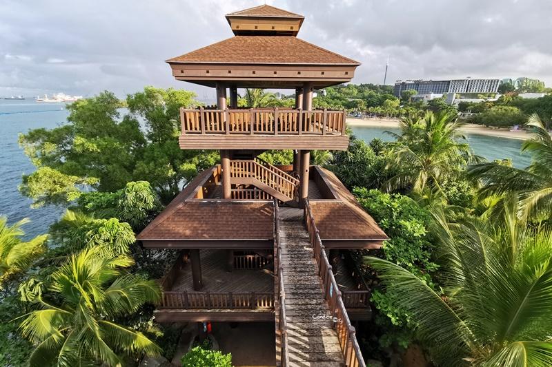 亞洲大陸最南點|巴拉望海灘,叢林探險吊橋,聖淘沙景點必訪!