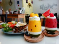 木易子食所|超夯西瓜冰沙,芒果冰沙好可愛!美味溫馨小店! @陳小沁の吃喝玩樂