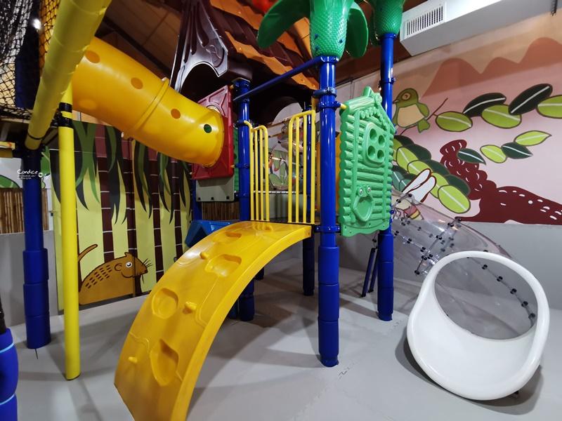 十鼓仁糖文創園區|2~5歲親子遊樂區,超好玩!7尺高球池溜滑梯!