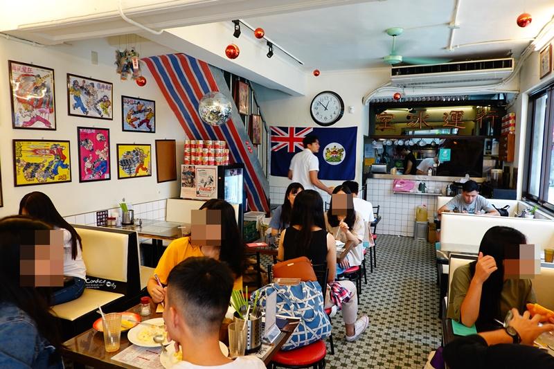行運冰室|南京復興好吃公仔麵,熔岩奶皇西多士招牌!台北港式茶餐廳!