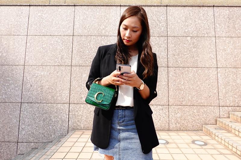 【開箱】chloe c bag Mini 迷你小C包,LV & ME字母項鍊(微風周年慶敗家品開箱!)