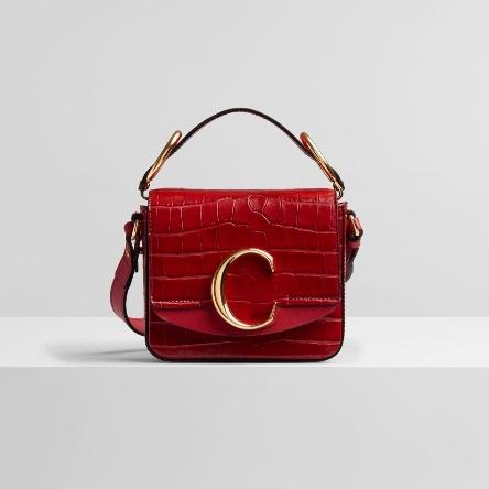 【開箱】chloe c bag Mini 迷你小C包,LV & ME字母項鍊(微風周年慶敗家品開箱!) @陳小沁の吃喝玩樂