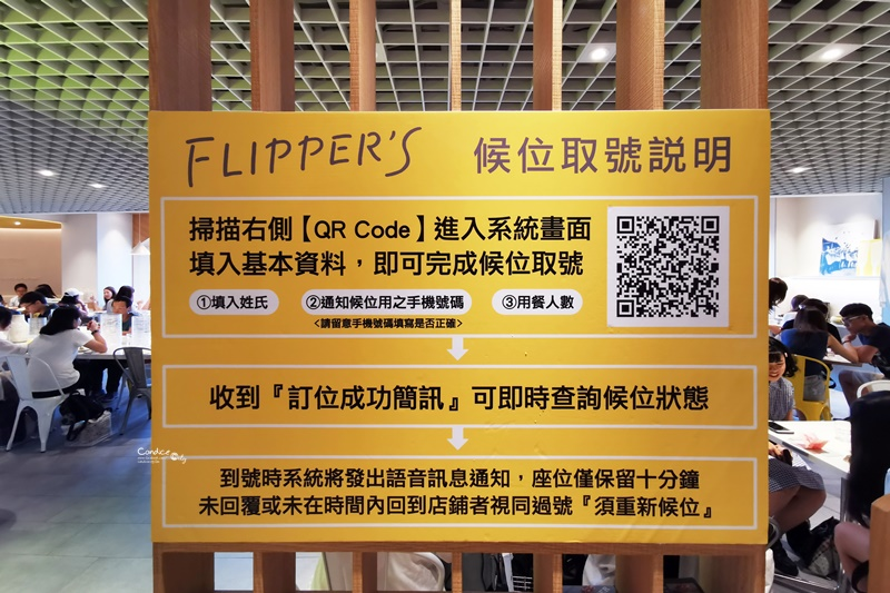 FLIPPER'S奇蹟的舒芙蕾鬆餅|日本輕盈奶油,檸檬葡萄口味超好吃(誠品南西店)