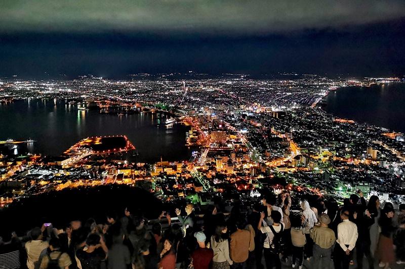 函館夜景|搭乘函館山纜車去欣賞函館百萬夜景!世界三大夜景之一!