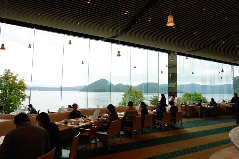 湖景飯店 洞爺乃之風|超享受洞爺湖住宿!房裡欣賞洞爺湖煙火,超美餐廳一泊二食!