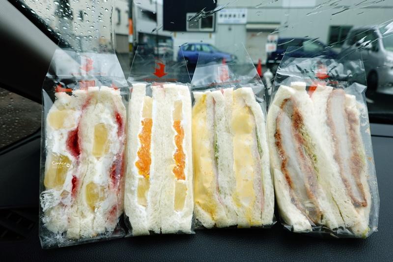 Sandria|24小時開的札幌三明治名店!招牌蛋沙拉火腿三明治必吃!