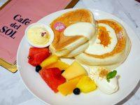 Café del SOL 福岡人氣第一鬆餅|鬆餅或義大利麵都好吃!台北舒芙蕾鬆餅推薦! @陳小沁の吃喝玩樂