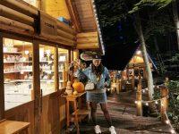 森林精靈露台+森之時計咖啡屋|點燈後森林精靈露臺超漂亮!富良野景點推薦! @陳小沁の吃喝玩樂