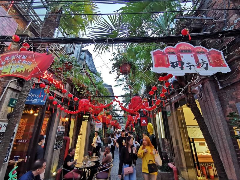 田子坊|上海必去景點!中式建築中逛文青小店!上海文青景點!