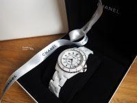 【開箱】CHANEL J12 38mm手錶,機芯透明超美!5周年結婚紀念日禮物開箱! @陳小沁の吃喝玩樂