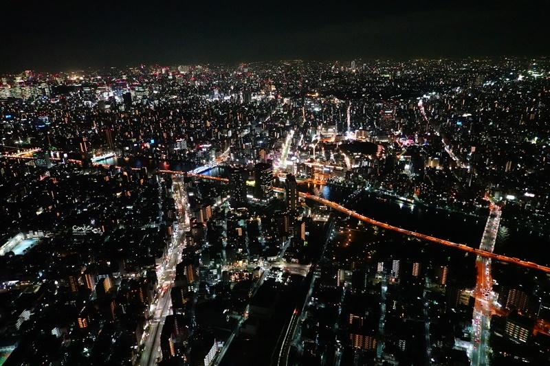 東京晴空塔展望台|晴空塔夜景超美!必訪450m天空迴廊!