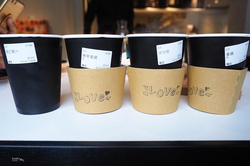 愛咖啡Love cafe‧Love food|內湖咖啡廳,超平價,CP值嚇死人的高!