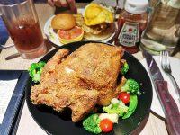 The chips美式餐廳 南港|美式漢堡還有炸全雞可吃!超過癮! @陳小沁の吃喝玩樂