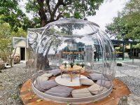 窯籃曲|宜蘭泡泡屋森林系義式烘焙餐廳,超夢幻宜蘭玻璃屋(礁溪美食) @陳小沁の吃喝玩樂