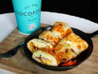 LoCo Food 樂口福|超酥脆的台北蛋餅推薦!鐵鍋裝呈,辣椒必加! @陳小沁の吃喝玩樂