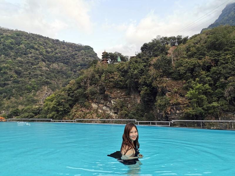 太魯閣晶英酒店|峽谷泳池+泡湯,梅園中餐廳晚餐超棒!人生必住一次!