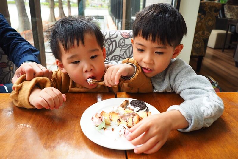The Cafe' by想 台中|旁邊就是公園,溜小孩必備!餐點好吃平價!台中親子餐廳推薦!