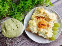 雲朵蛋吐司食譜|今天早餐很夢幻!夢幻早餐雲朵吐司自己做! @陳小沁の吃喝玩樂