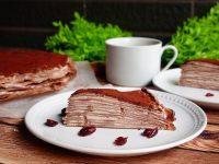 巧克力千層蛋糕做法|超好吃的巧克力千層食譜/配方不膩又細緻! @陳小沁の吃喝玩樂