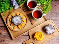 巧克力熔岩蛋糕|氣炸鍋/烤箱都適用食譜!簡單就好吃的不得了! @陳小沁の吃喝玩樂
