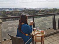 福容大飯店 花蓮|花蓮海景飯店,坐在陽台吃早餐!飯店設施多! @陳小沁の吃喝玩樂