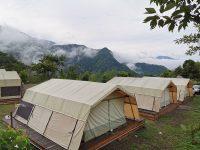 新竹愛上天湖露營區|入住南非狩獵帳!可戲水,划船的新竹親子露營區! @陳小沁の吃喝玩樂