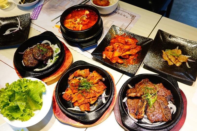 韓屋村韓定食|菜單幾乎每一項都好吃!辣烤五花肉最讚,東區韓式料理定食!
