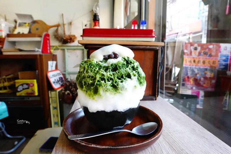 小亀有かき冰 kakigori店|超好拍宜蘭冰店,日式文青超好拍,抹茶冰推薦! @陳小沁の吃喝玩樂