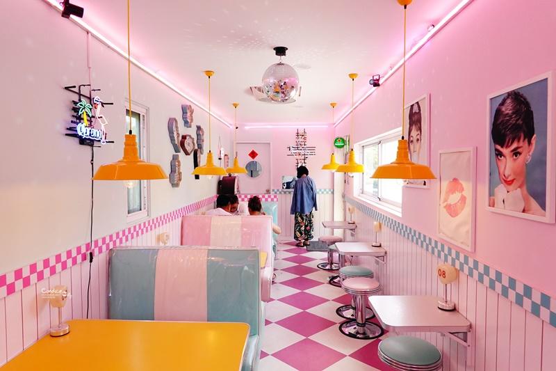 南風微甜|全店粉紅色,超可愛墾丁網美咖啡廳!冰也好吃喔! @陳小沁の吃喝玩樂