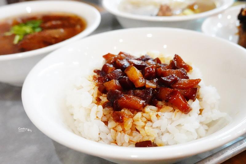 北北車魯肉飯|文青台北車站滷肉飯,排骨酥湯必點!銅板美食推薦!