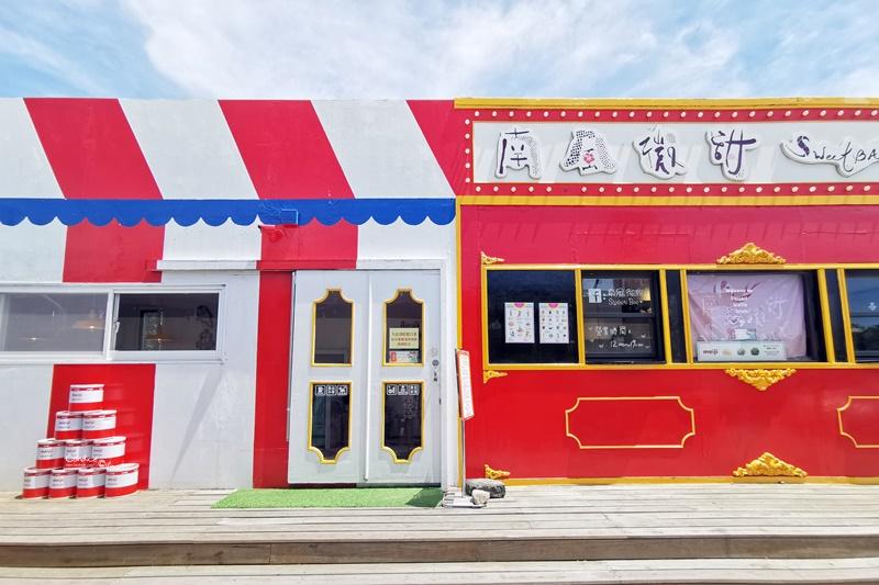 南風微甜|全店粉紅色,超可愛墾丁網美咖啡廳!冰也好吃喔!