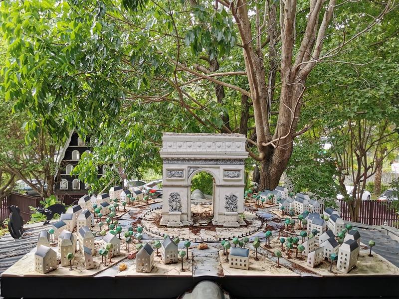 大坑紙箱王創意園區 紙做的台中親子景點!仿各國景點超好拍!