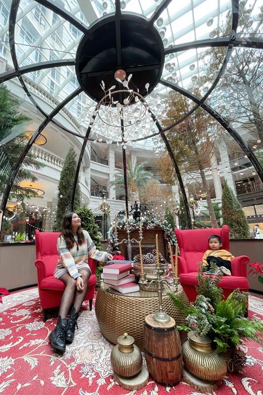 2020貴婦百貨聖誕節|Bellavita聖誕北歐玻璃屋,超美雪屋!排隊怎麼拍必看攻略!