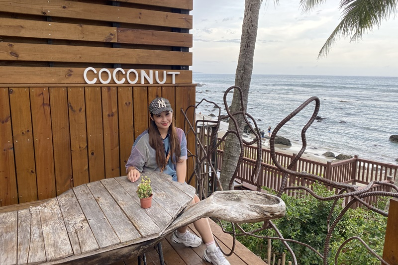 台東可可娜咖啡|像到峇厘島度假一般放鬆的台東網美咖啡廳推薦!