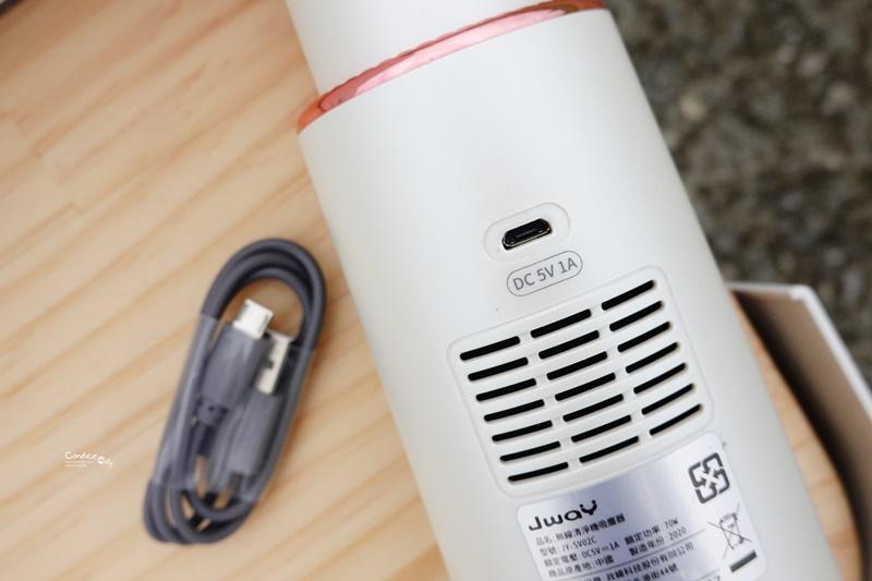 JWAY無線清淨機吸塵器|露營吸帳棚超好用!車用吸塵器+臭氧清淨機!一機兩用好聰明!