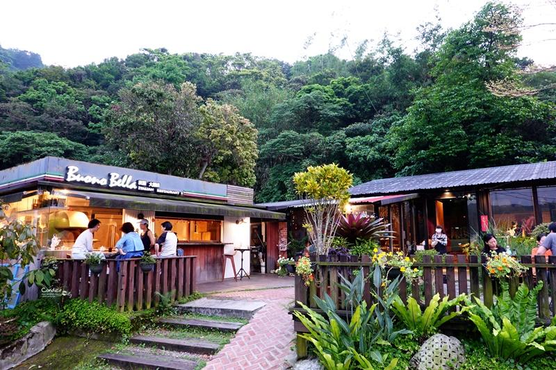 波諾義大利料理台北|風景超美的大湖公園美食餐廳!