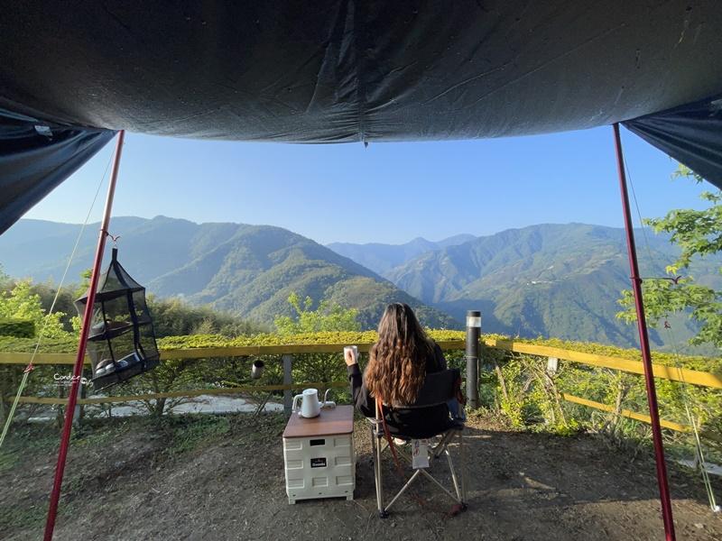 拉拉山芘雅尚露營區|超級美綿延山景!爆喜歡的拉拉山露營區!營區介紹/路況