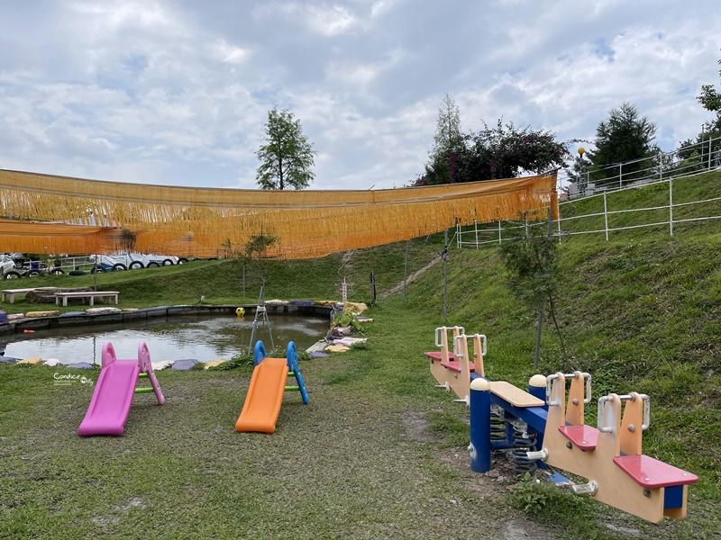 好地方露營區 孩子們的遊戲天堂!滑草/溜滑梯/鞦韆/戲水,樣樣有!超好玩!