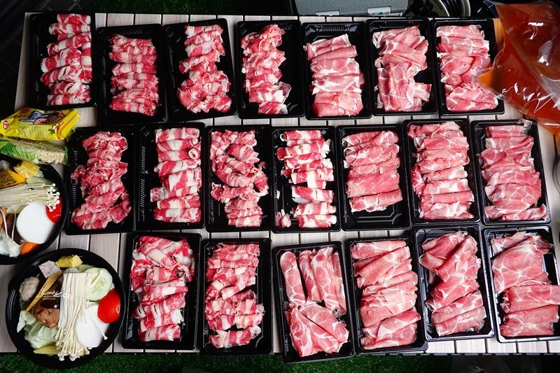瀧厚鍋物外帶|全台最強火鍋外帶!+$1吃100盎司肉品! @陳小沁の吃喝玩樂